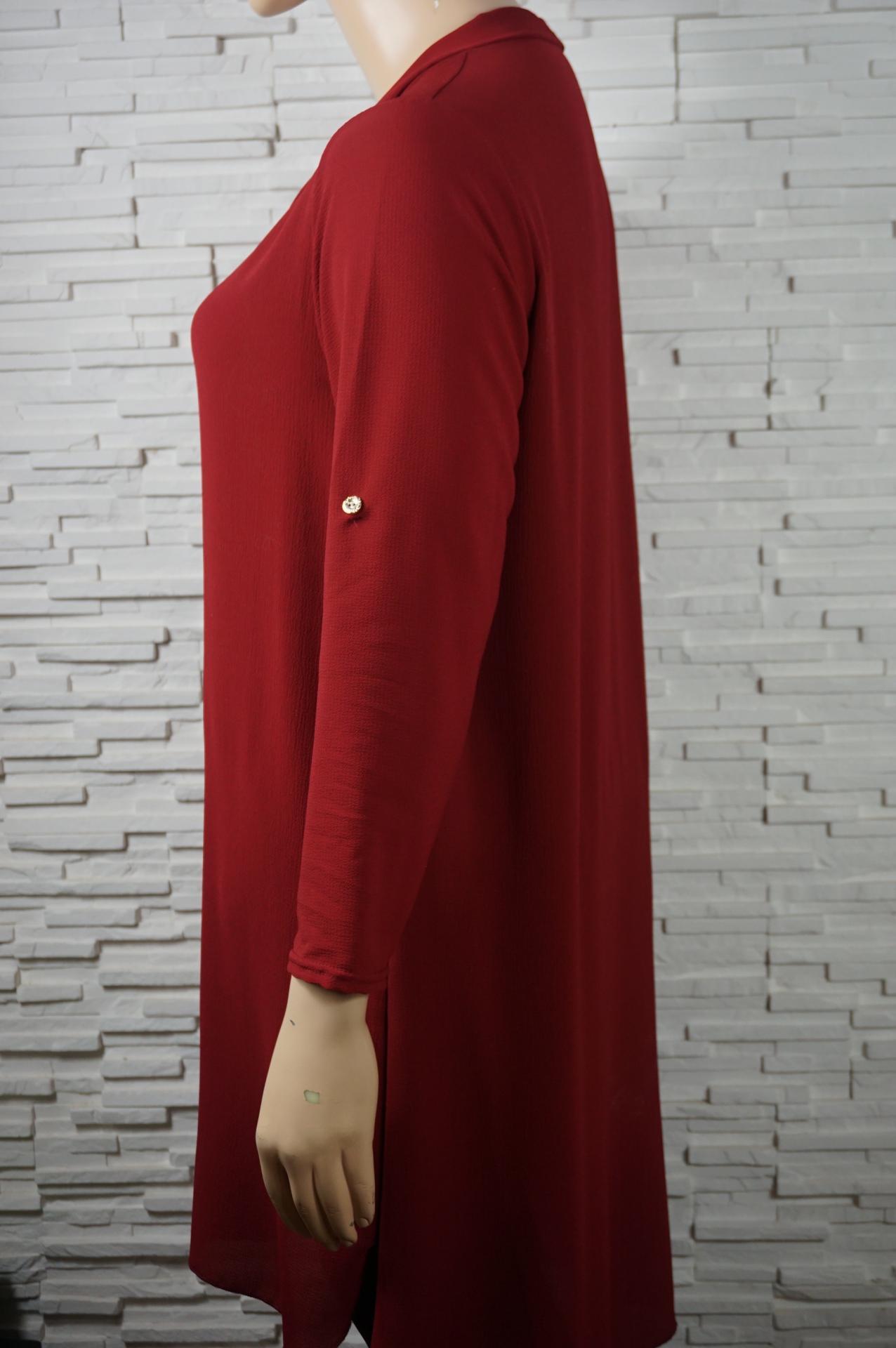 Robe tunique longue a liens5