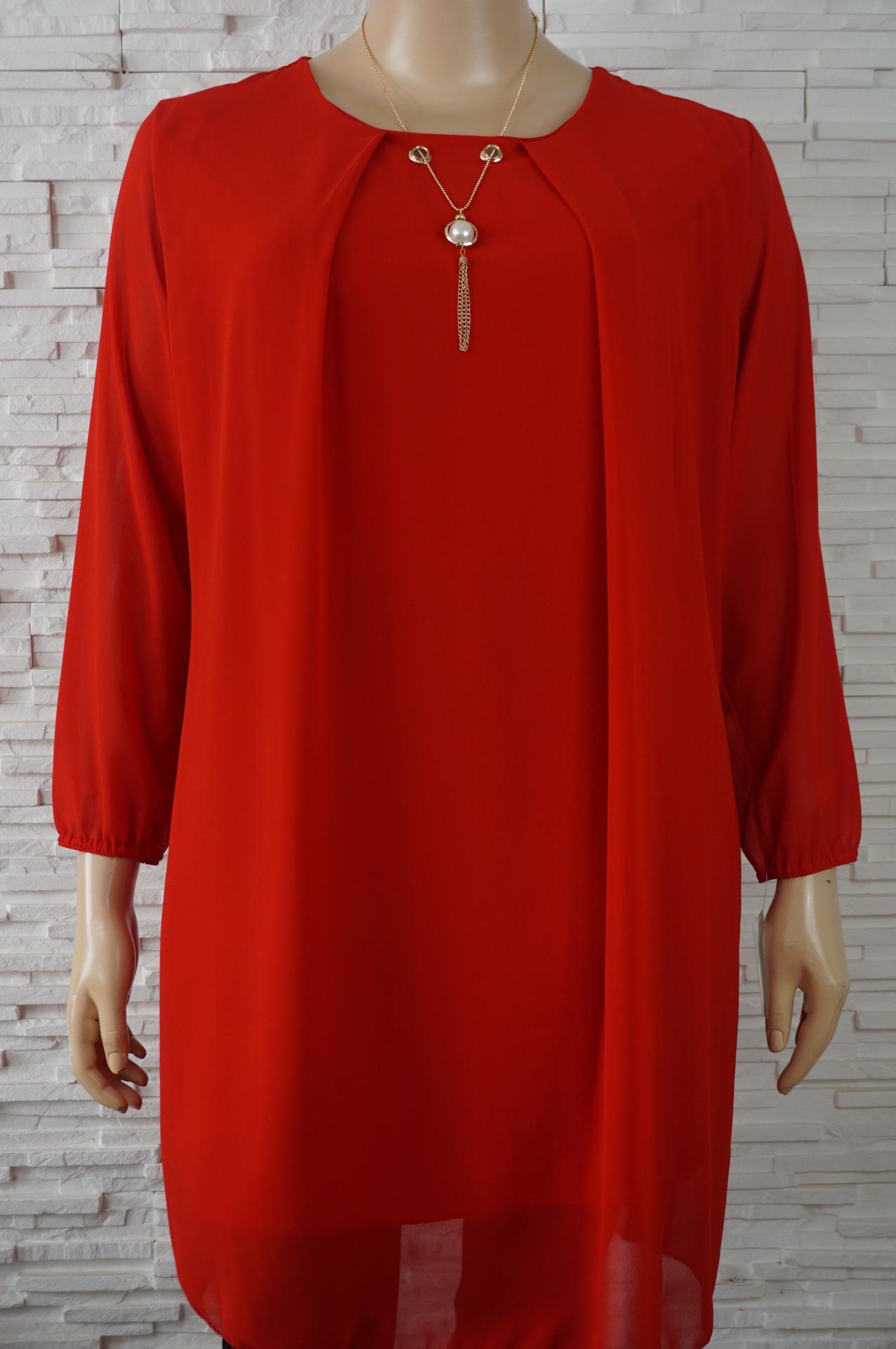 Robe tunique longue avec collier1