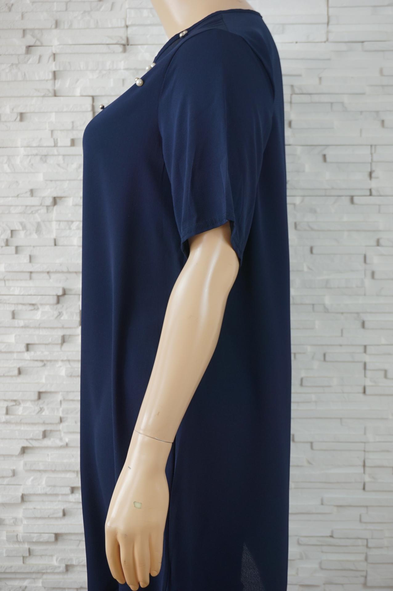 Robe tunique longue avec perles2