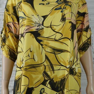 Robe tunique longue coton large a fleurs1