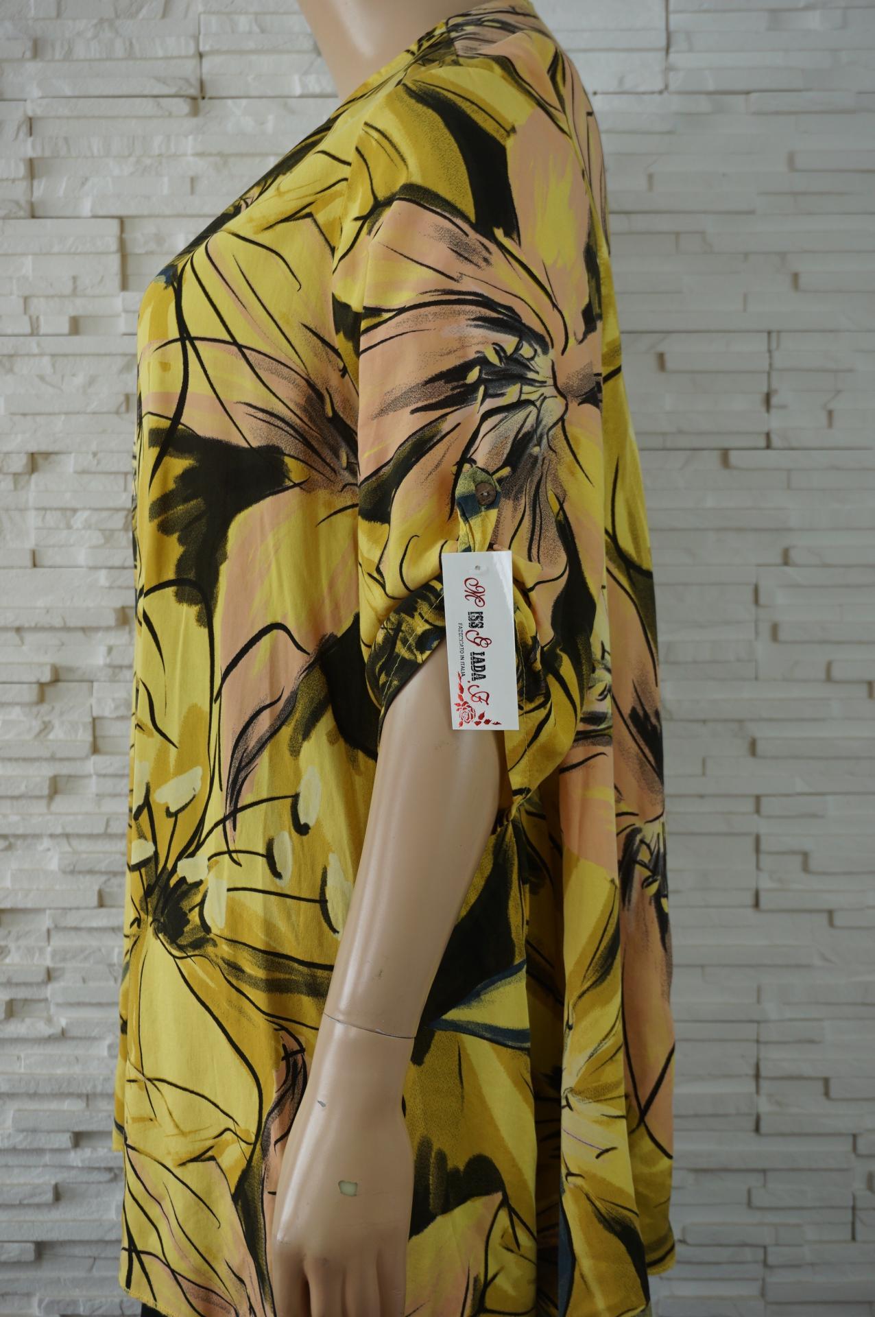 Robe tunique longue coton large a fleurs2