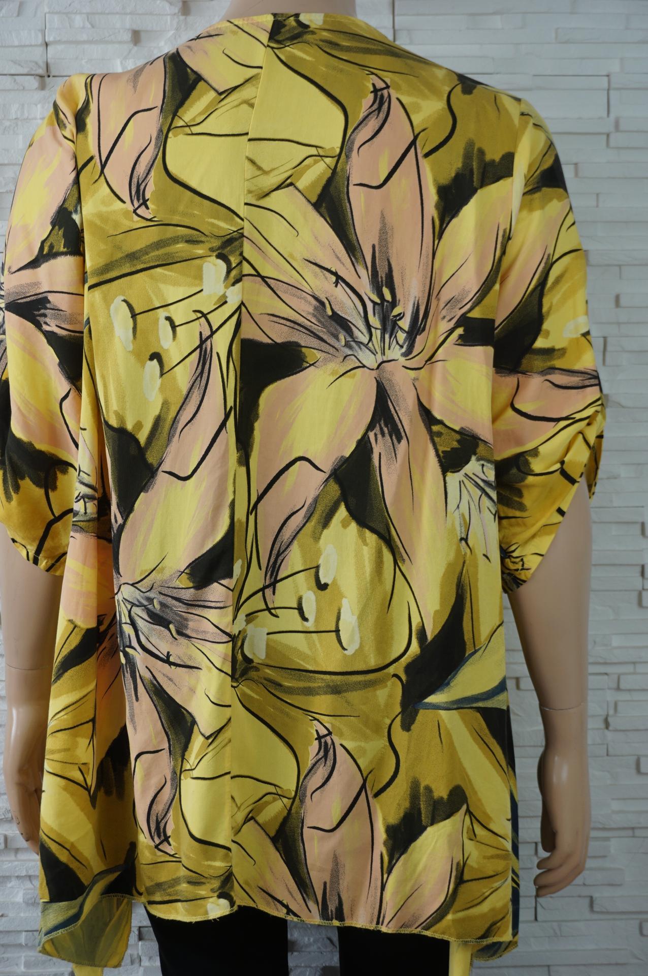 Robe tunique longue coton large a fleurs3