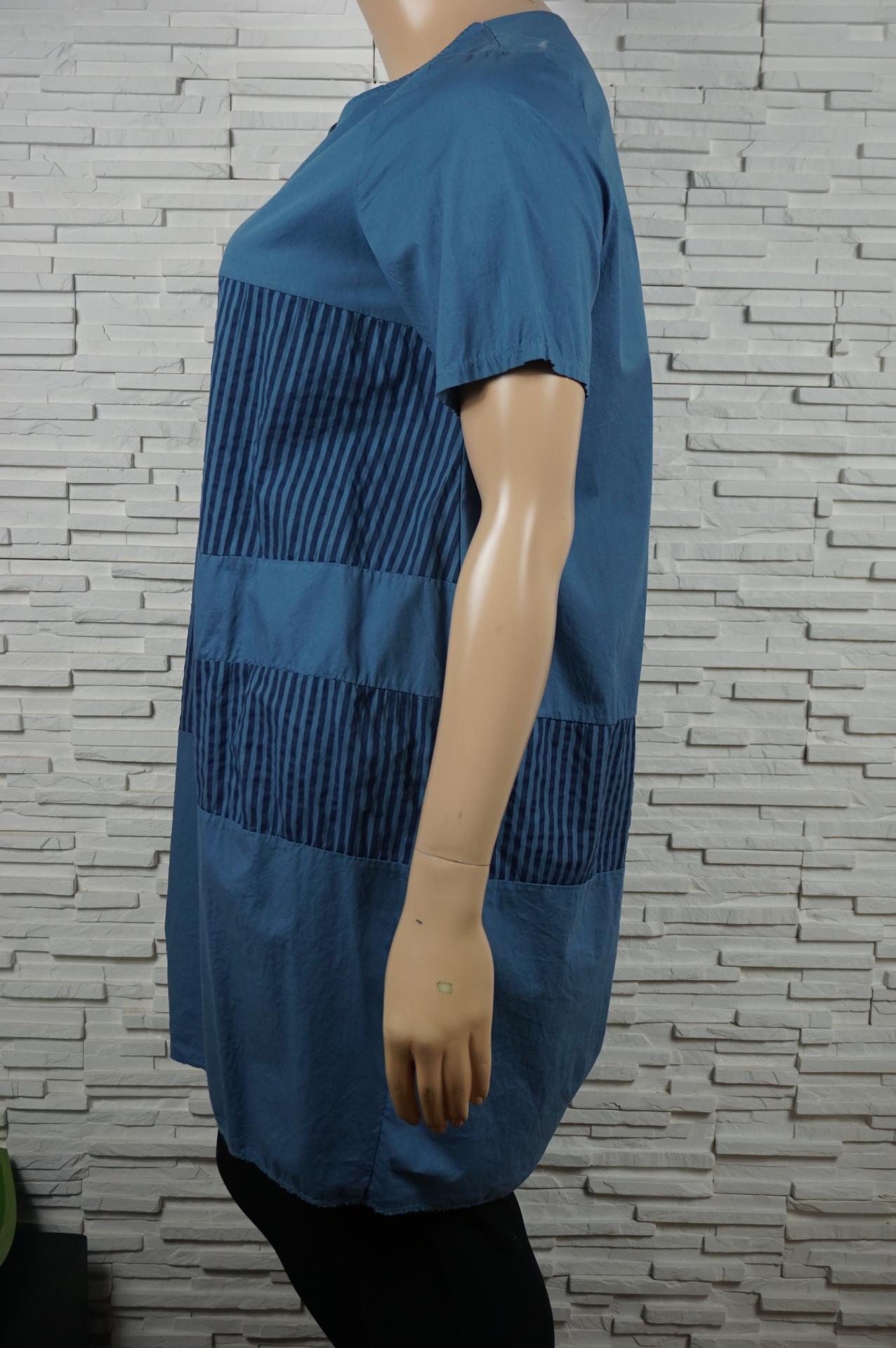 Robe tunique longue coton2