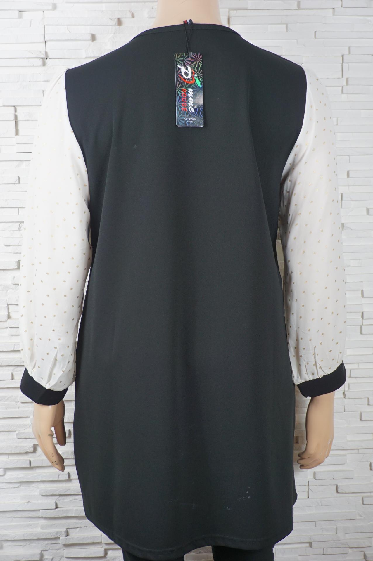 Robe vintage noir et blanc1