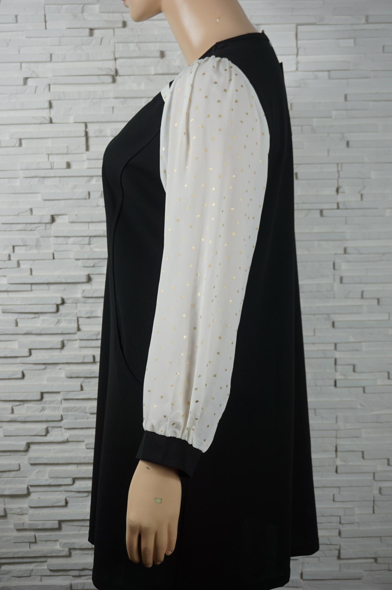 Robe vintage noir et blanc2