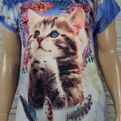 T shirt a motif chat1
