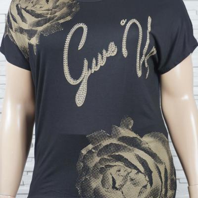 T shirt imprime florales1