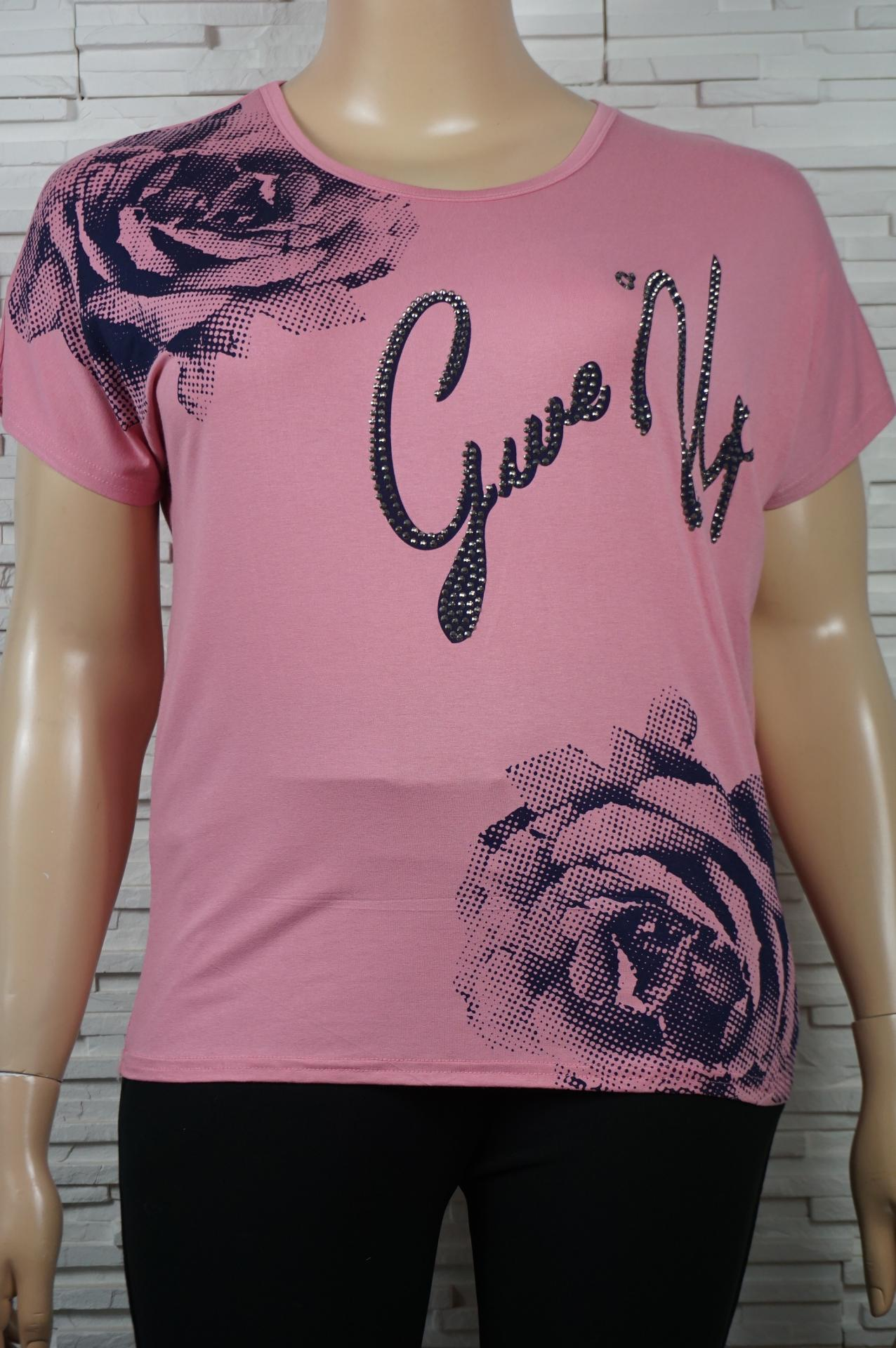 T shirt imprime florales3