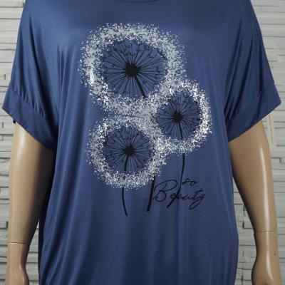 T shirt long a motif2