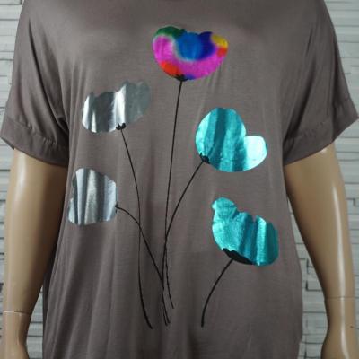 T shirt long a motif8