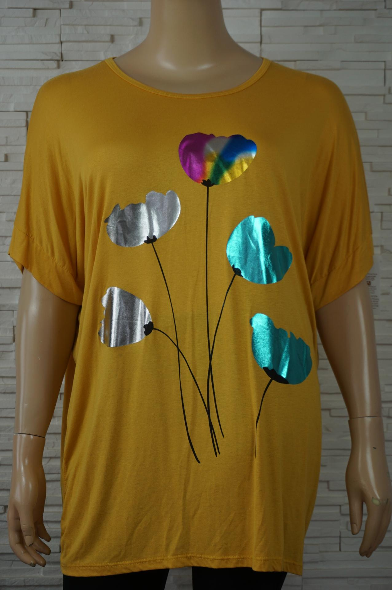 T shirt long tulipes brillantes2