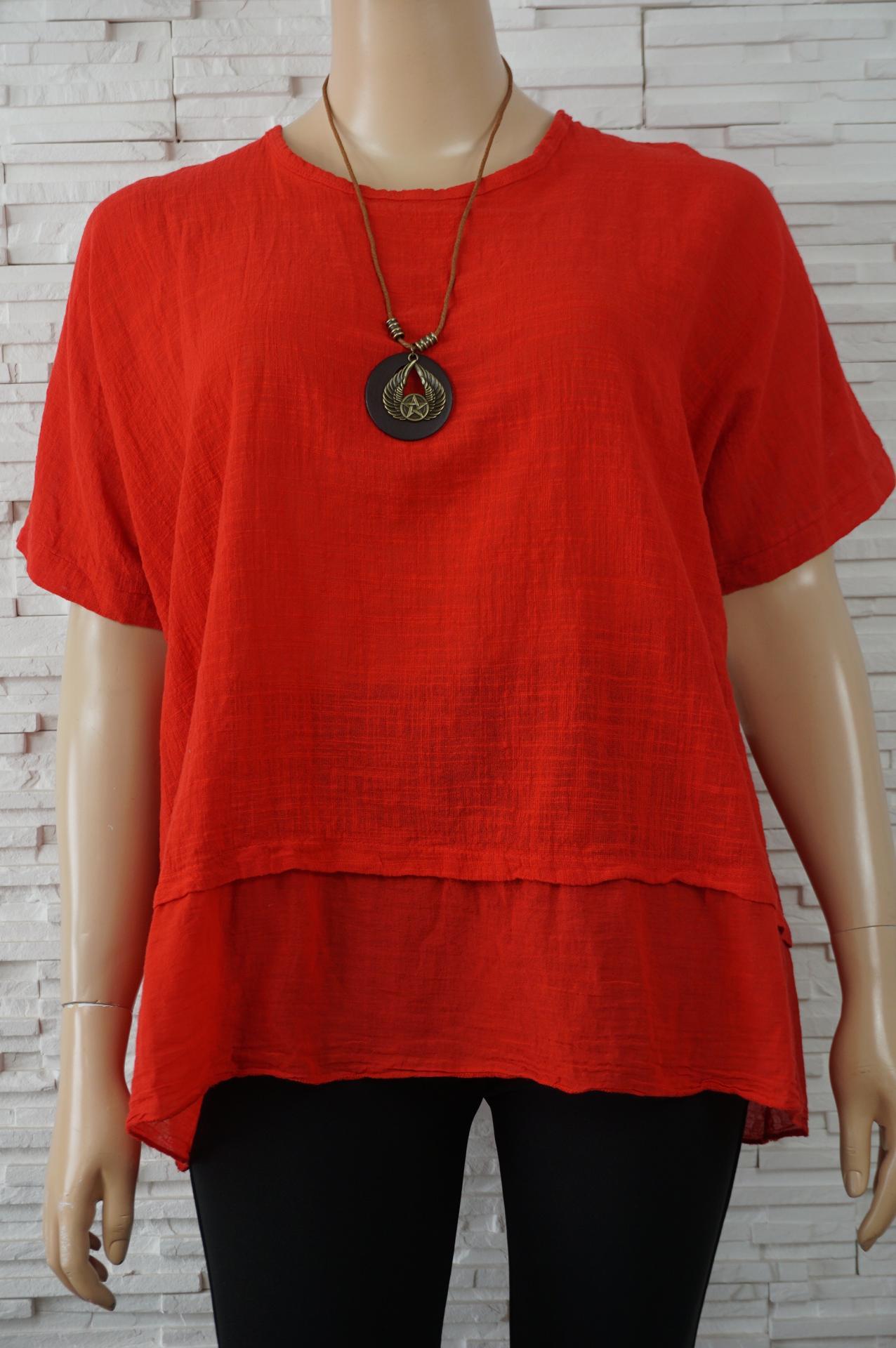 Tunique coton a collier1