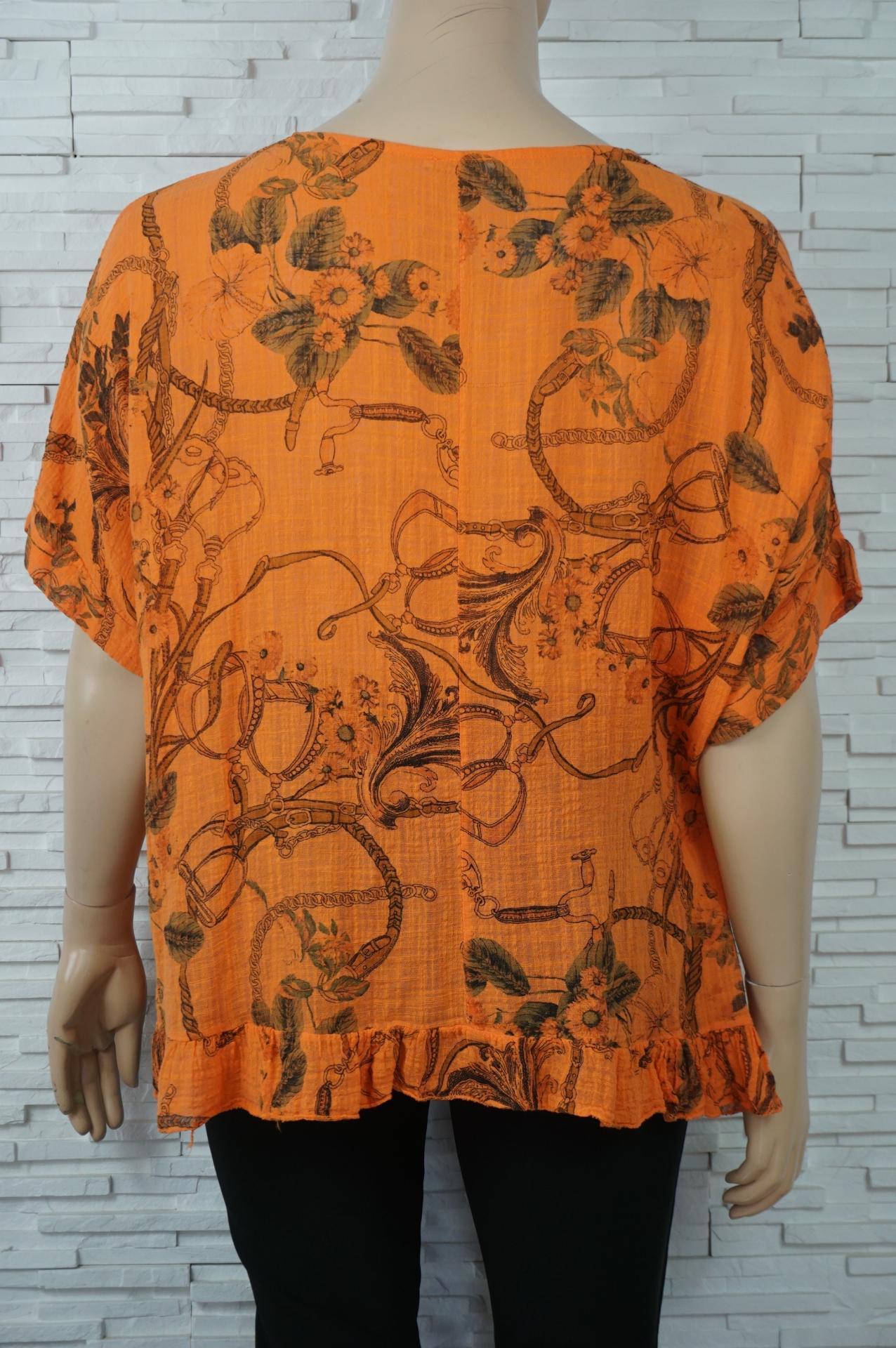 Tunique coton volant imprime foulard1