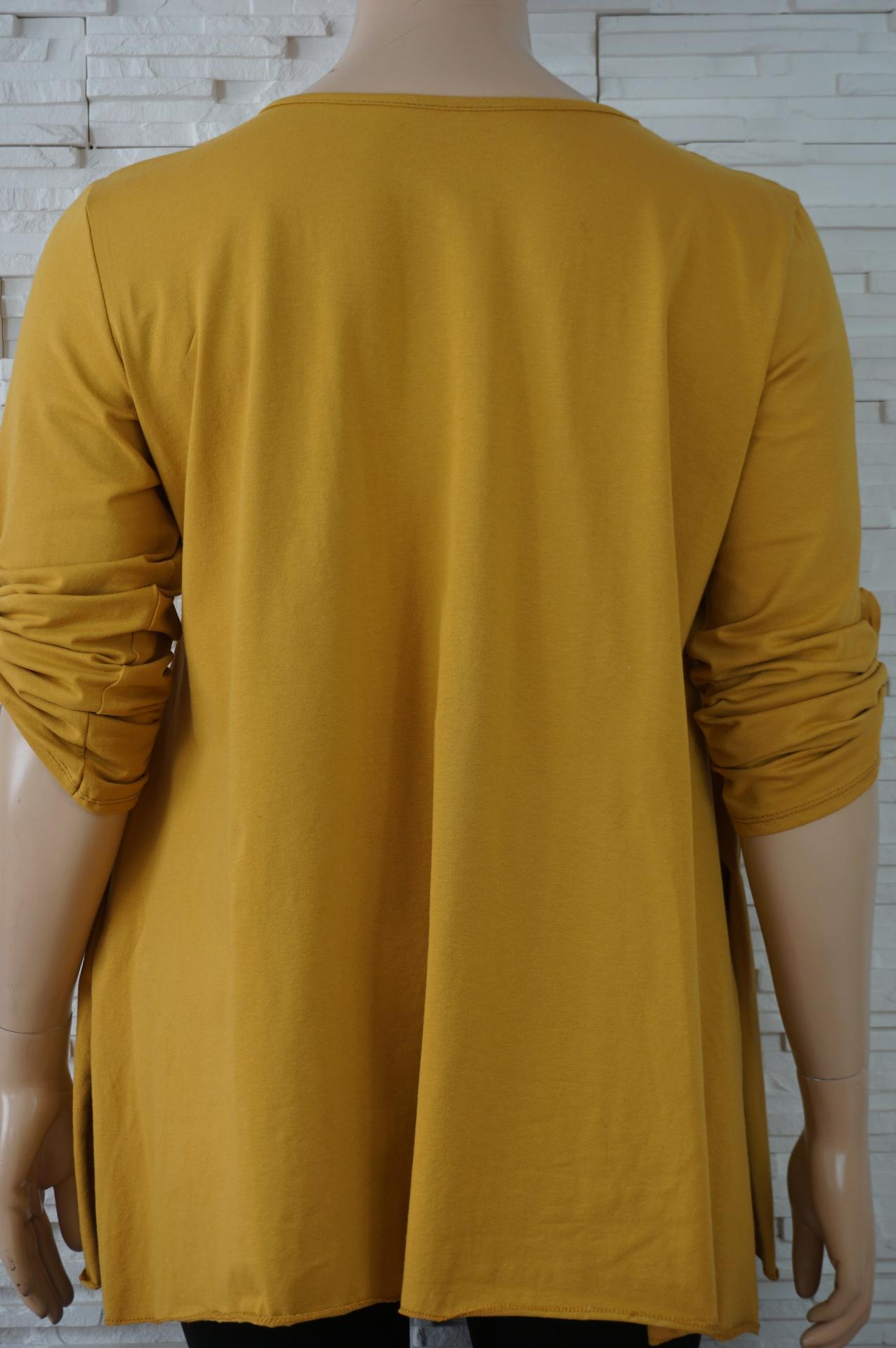 Tunique longue coton avec coeur en strass3
