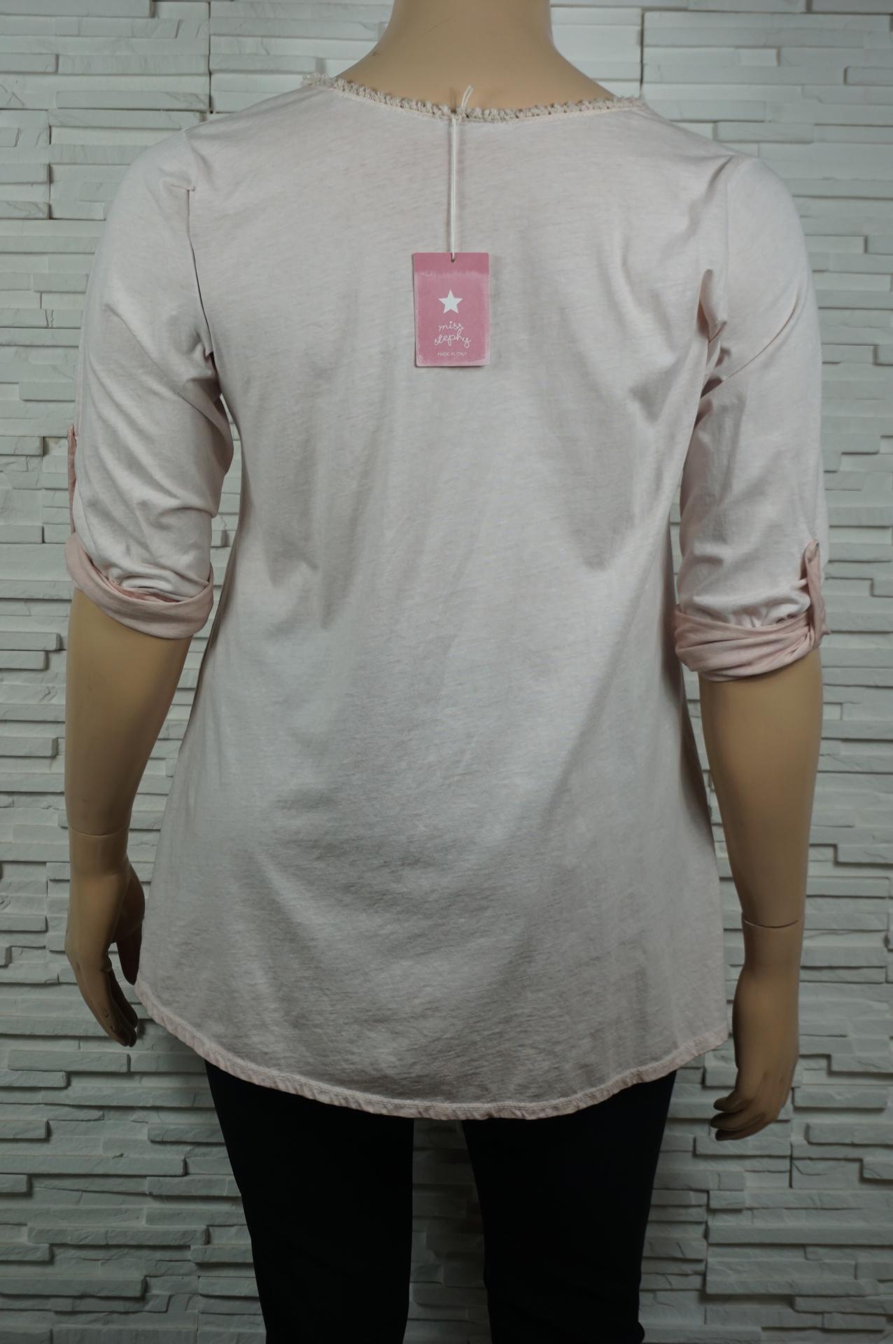 Tunique longue coton motif argent3