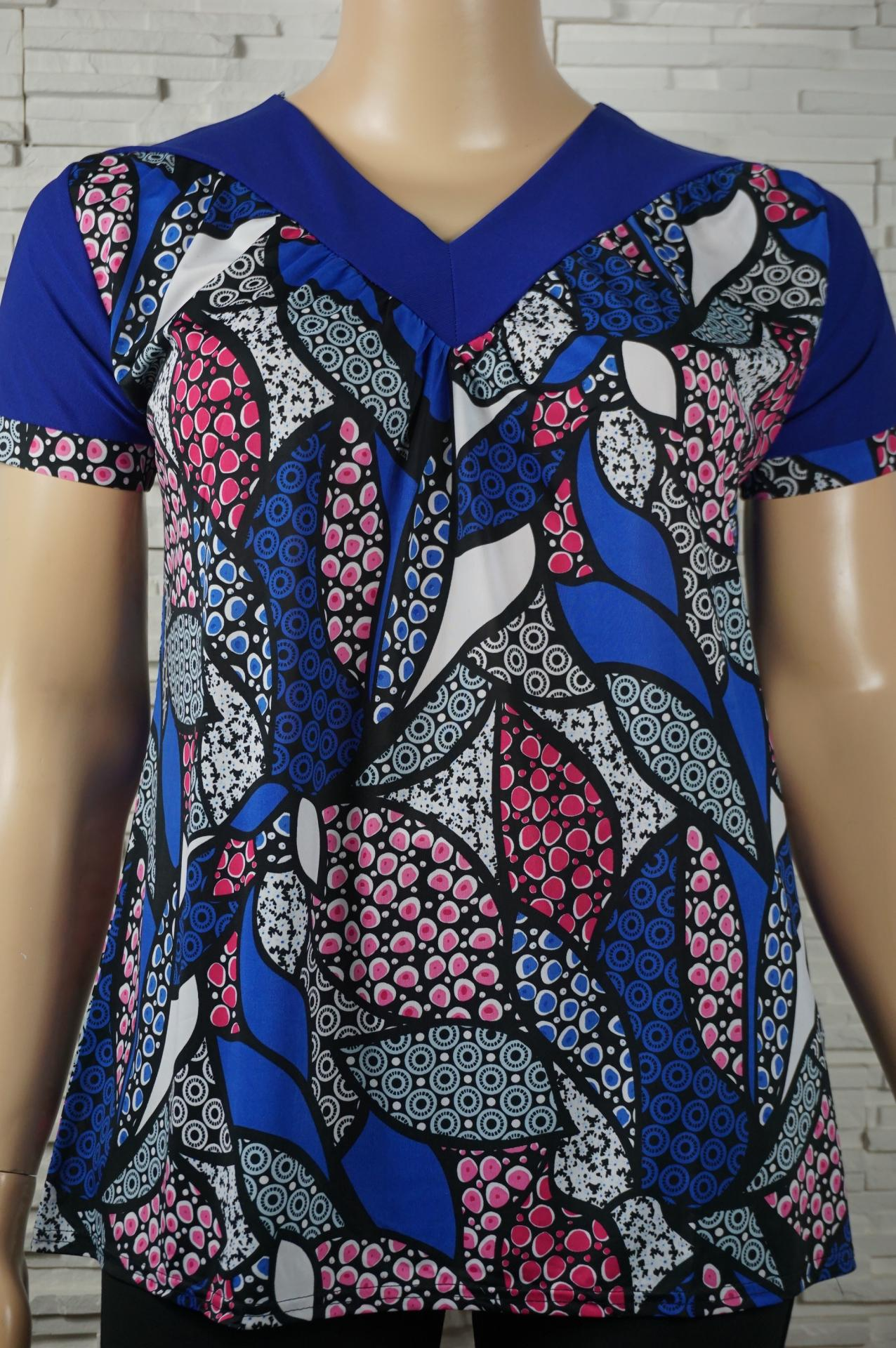 Tunique tee shirt imprime en lycra4