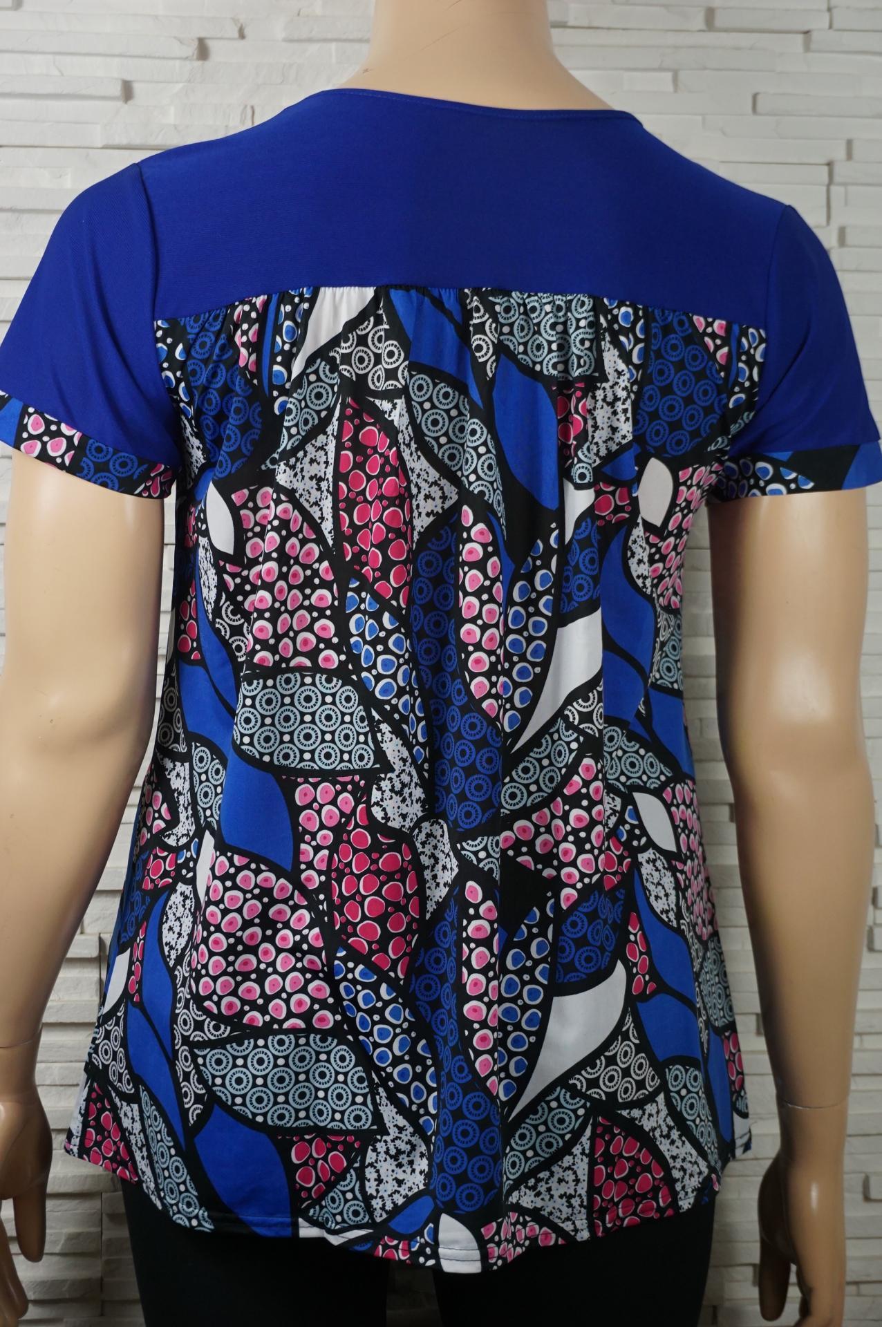 Tunique tee shirt imprime en lycra6